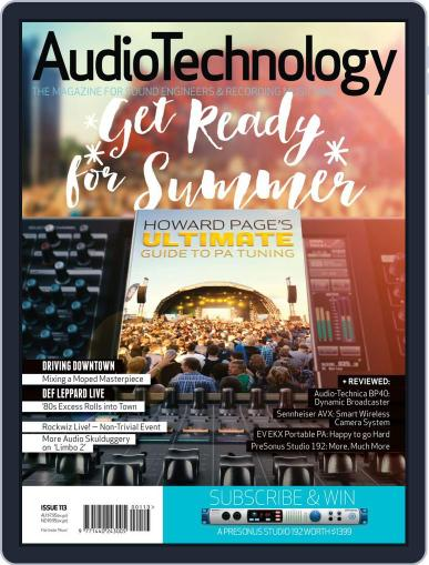 AudioTechnology (Digital) December 21st, 2015 Issue Cover