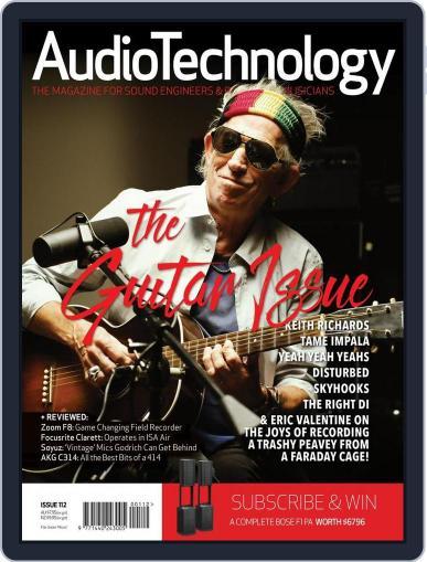 AudioTechnology (Digital) November 21st, 2015 Issue Cover