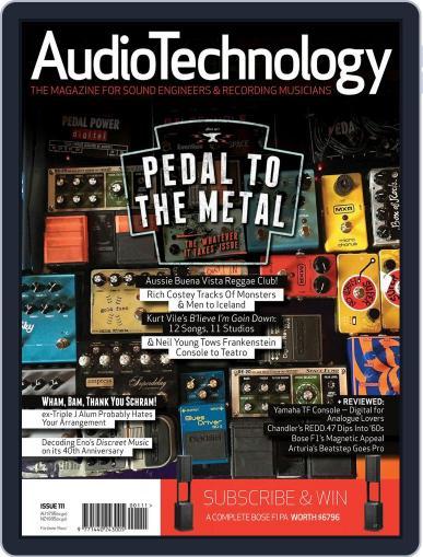 AudioTechnology (Digital) September 1st, 2015 Issue Cover