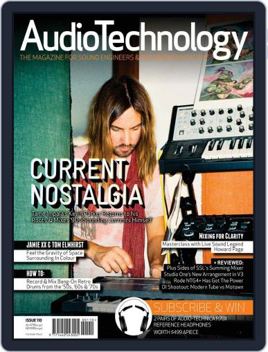 AudioTechnology (Digital) July 15th, 2015 Issue Cover