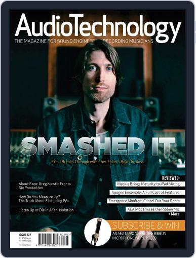 AudioTechnology (Digital) February 23rd, 2015 Issue Cover