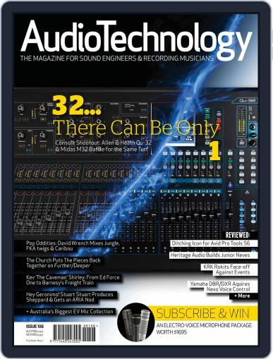 AudioTechnology (Digital) January 9th, 2015 Issue Cover