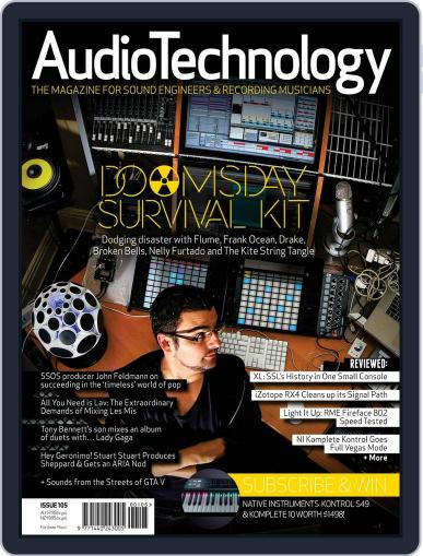 AudioTechnology (Digital) November 18th, 2014 Issue Cover