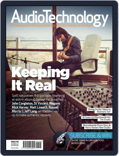 AudioTechnology (Digital) June 17th, 2014 Issue Cover