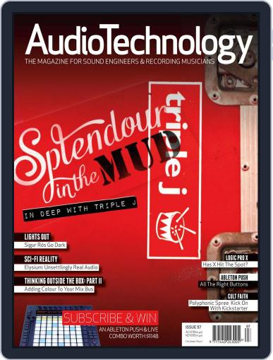 AudioTechnology (Digital) September 13th, 2013 Issue Cover