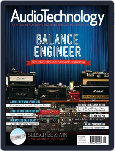 AudioTechnology (Digital) July 31st, 2013 Issue Cover