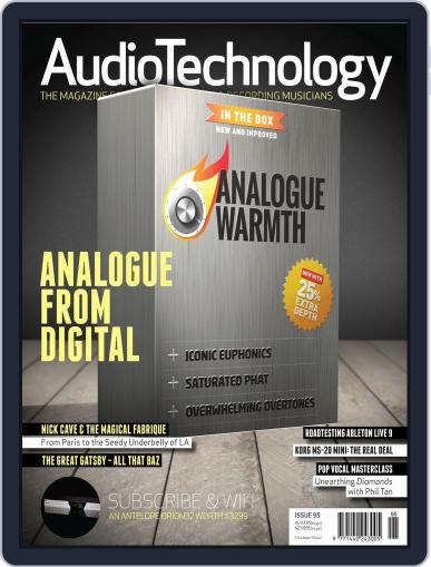 AudioTechnology (Digital) June 25th, 2013 Issue Cover
