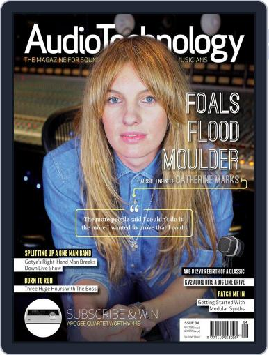 AudioTechnology (Digital) April 22nd, 2013 Issue Cover