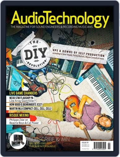 AudioTechnology (Digital) November 19th, 2012 Issue Cover
