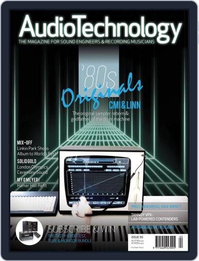 AudioTechnology (Digital) October 3rd, 2012 Issue Cover