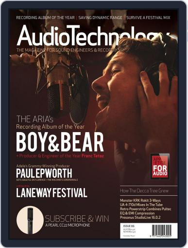 AudioTechnology (Digital) February 28th, 2012 Issue Cover