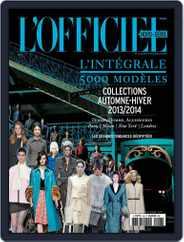 L'Officiel 1000 modèles - L'Intégrale Magazine (Digital) Subscription April 28th, 2013 Issue