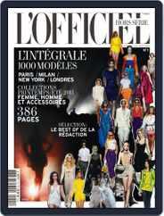 L'Officiel 1000 modèles - L'Intégrale Magazine (Digital) Subscription March 24th, 2011 Issue