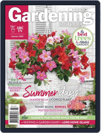Gardening Australia (Digital) January 1st, 2020 Issue Cover
