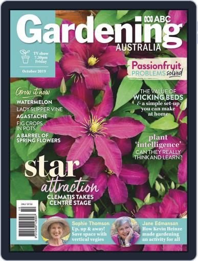 Gardening Australia (Digital) October 1st, 2019 Issue Cover