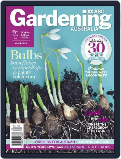 Gardening Australia (Digital) March 1st, 2019 Issue Cover
