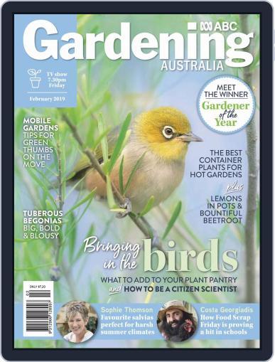 Gardening Australia (Digital) February 1st, 2019 Issue Cover