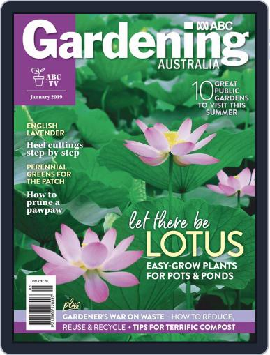 Gardening Australia (Digital) January 1st, 2019 Issue Cover