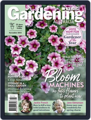 Gardening Australia (Digital) November 1st, 2018 Issue Cover