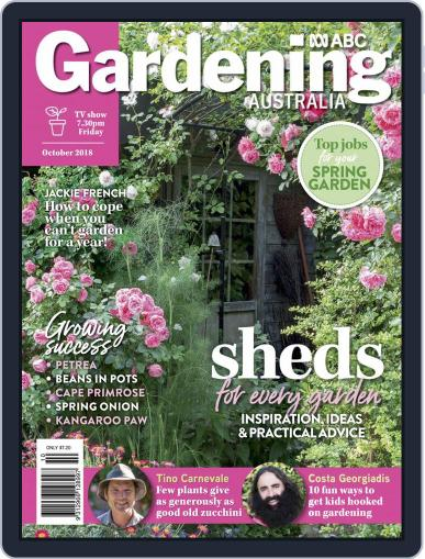 Gardening Australia (Digital) October 1st, 2018 Issue Cover