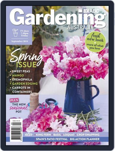Gardening Australia (Digital) September 1st, 2018 Issue Cover