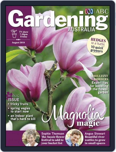 Gardening Australia (Digital) August 1st, 2018 Issue Cover
