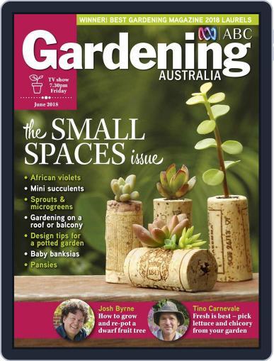 Gardening Australia (Digital) June 1st, 2018 Issue Cover