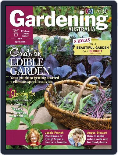 Gardening Australia (Digital) April 1st, 2018 Issue Cover
