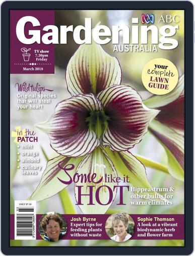 Gardening Australia (Digital) March 1st, 2018 Issue Cover