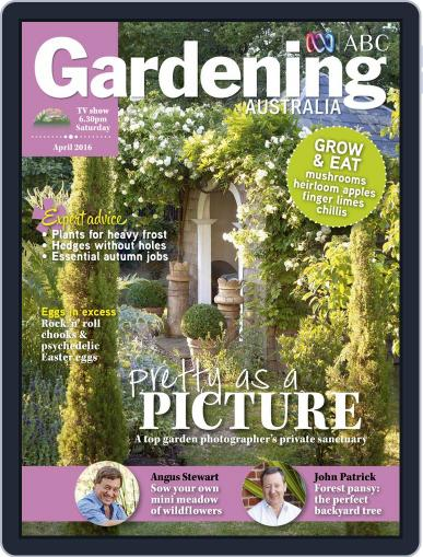 Gardening Australia (Digital) March 13th, 2016 Issue Cover