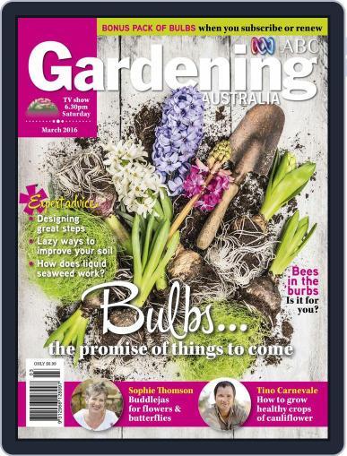 Gardening Australia (Digital) February 14th, 2016 Issue Cover