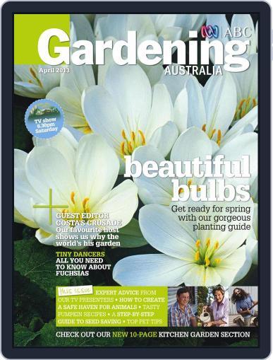 Gardening Australia (Digital) March 17th, 2013 Issue Cover