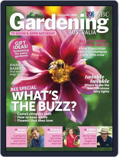 Gardening Australia (Digital) November 18th, 2012 Issue Cover
