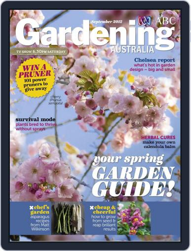 Gardening Australia (Digital) August 17th, 2012 Issue Cover