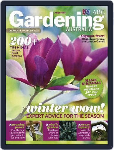 Gardening Australia (Digital) July 14th, 2012 Issue Cover