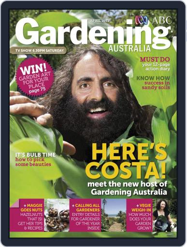 Gardening Australia (Digital) March 18th, 2012 Issue Cover