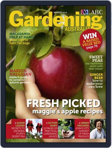 Gardening Australia (Digital) February 19th, 2012 Issue Cover