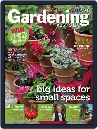 Gardening Australia (Digital) January 22nd, 2012 Issue Cover