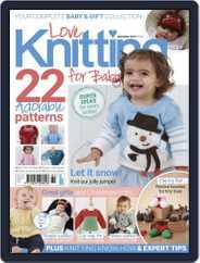 Love Knitting for Baby (Digital) Subscription November 21st, 2019 Issue