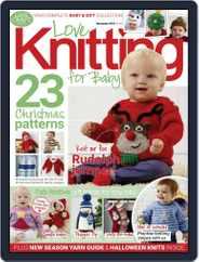 Love Knitting for Baby (Digital) Subscription November 1st, 2018 Issue