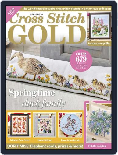 Cross Stitch Gold January 1st, 2020 Digital Back Issue Cover