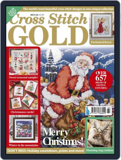 Cross Stitch Gold November 1st, 2019 Digital Back Issue Cover