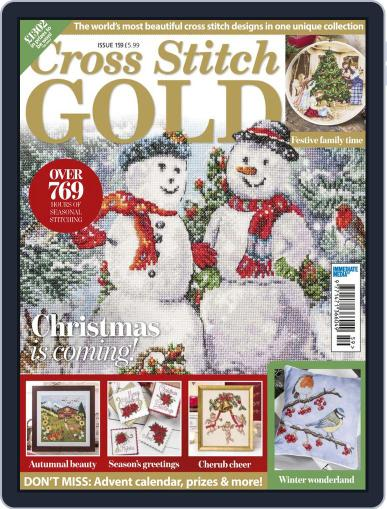 Cross Stitch Gold (Digital) October 1st, 2019 Issue Cover