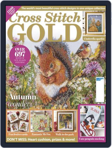 Cross Stitch Gold August 1st, 2019 Digital Back Issue Cover