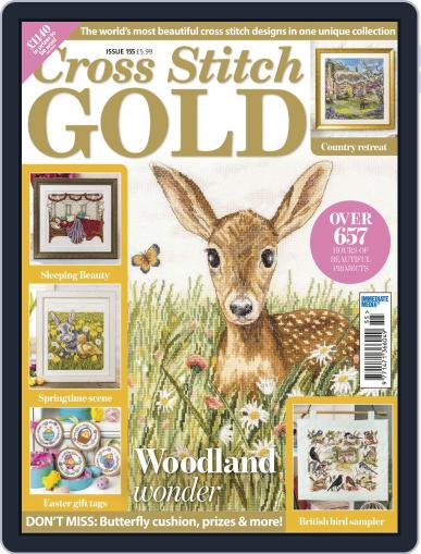 Cross Stitch Gold (Digital) March 29th, 2019 Issue Cover