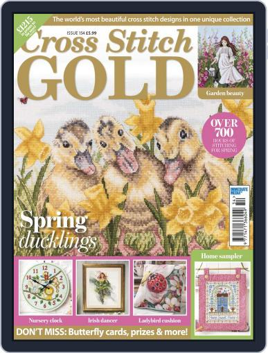 Cross Stitch Gold March 1st, 2019 Digital Back Issue Cover