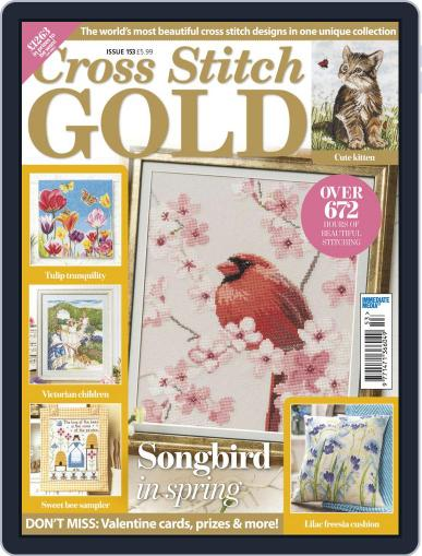 Cross Stitch Gold January 7th, 2019 Digital Back Issue Cover