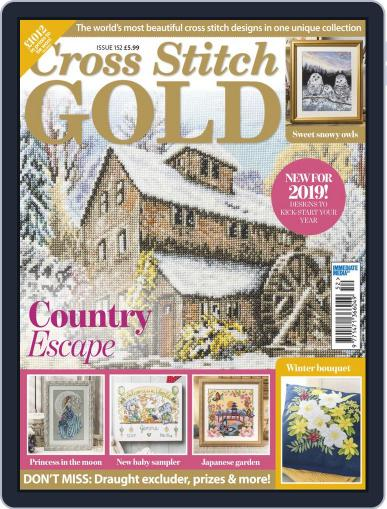 Cross Stitch Gold November 26th, 2018 Digital Back Issue Cover