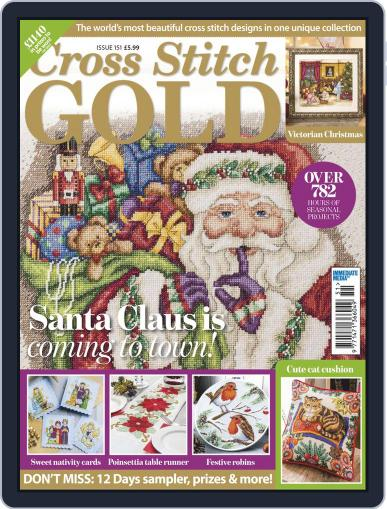 Cross Stitch Gold (Digital) November 1st, 2018 Issue Cover