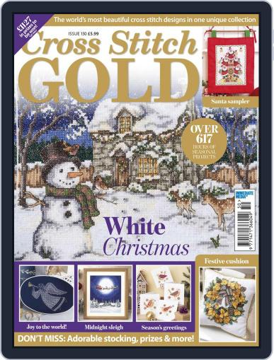 Cross Stitch Gold September 3rd, 2018 Digital Back Issue Cover